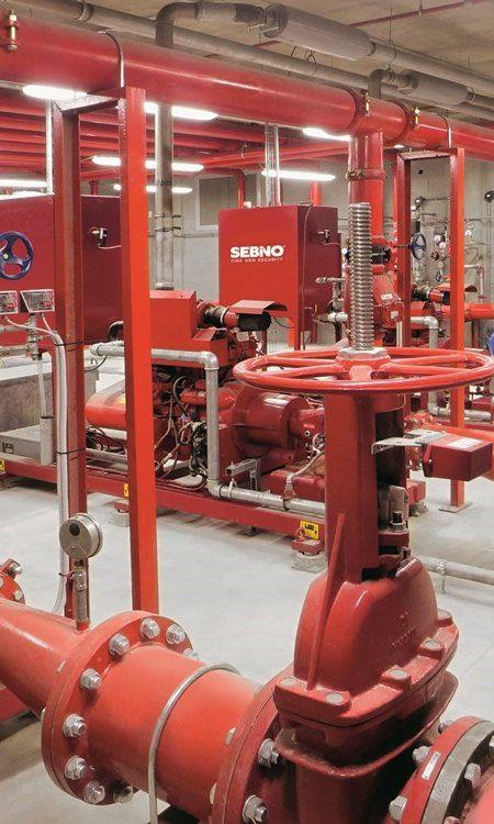 Sprinkler_Stazione di pompaggio con logo Sebino_nostra